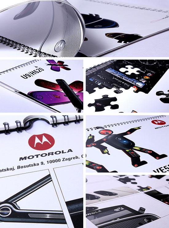 Motorola – zidni kalendar