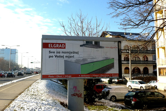 Elgrad – billboard