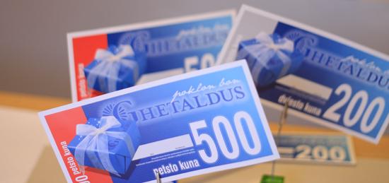 Ghetaldus – poklon bon
