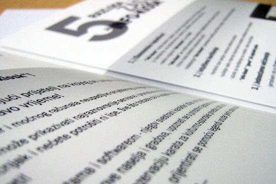 Gradatin – brošura Info kiosk