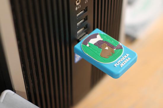 NP Plitvička jezera – USB stick